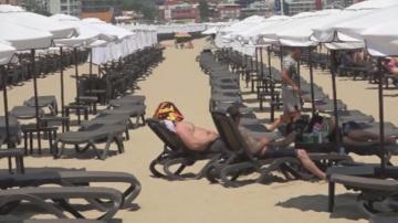 Сериозен спад на туристите на българското Черноморие