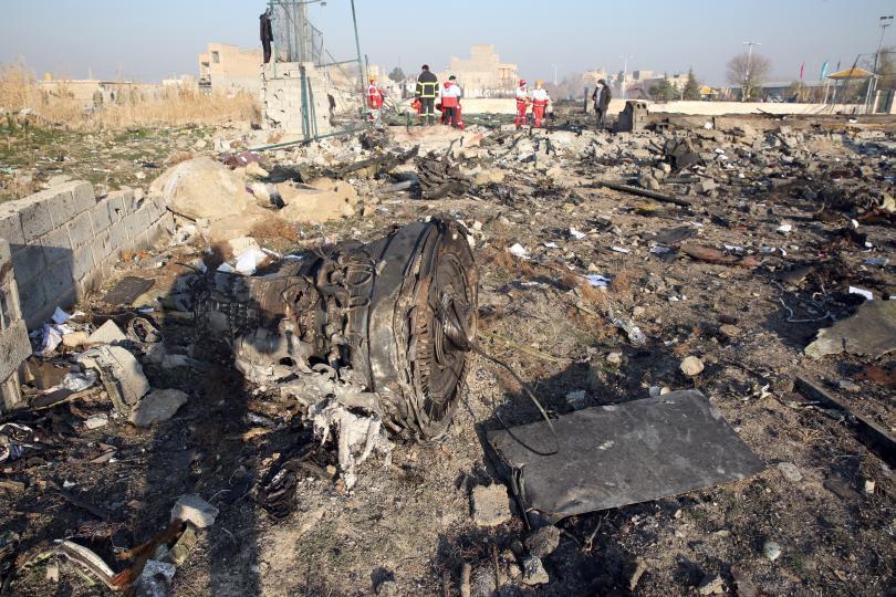 Ковчезите на 11-те украинци, загинали при инцидента със самолет, свален