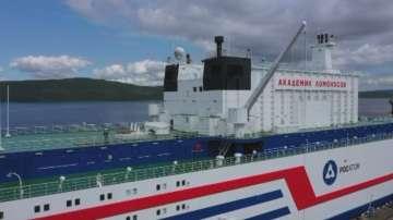 Първата в света плаваща АЕЦ потегля за Чукотка