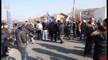 Жители на Джерман протестираха срещу изграждане на депо за битови отпадъци