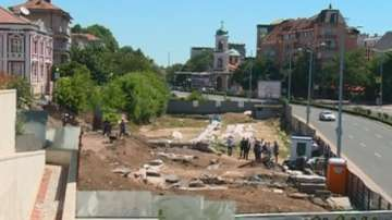 Голямата базилика в Пловдив е построена върху по-стар храм