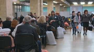 Опашки при предаването на изборните книжа в Пловдив