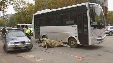 Градски автобус уби жена на пешеходна пътека в Пловдив