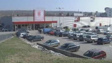 Инкасо автомобил е обран пред хипермаркет в Плевен