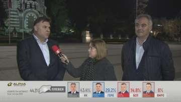 След вота в Плевен: първи коментари на Георг Спартански и Мирослав Петров