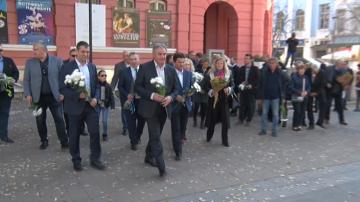 Политици от десни партии в Плевен отбелязаха 29 години от 10 ноември