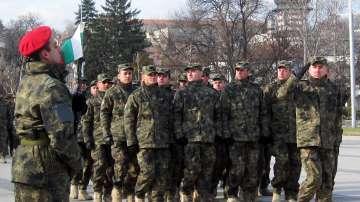 В Плевен посрещнаха 36-ия български контингент от Афганистан