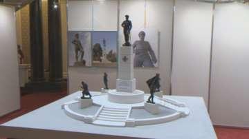 Макет на паметник на 9-а пехотна Плевенска дивизия представиха в НС