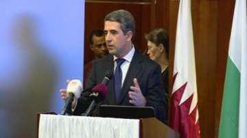 Завършва посещението на президента в Катар