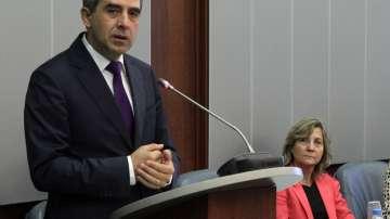Плевнелиев призова депутатите да се откажат от езика на омразата