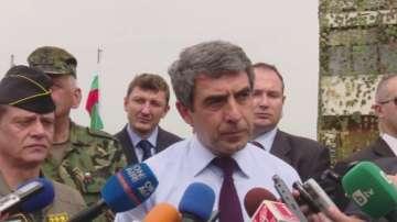 Плевнелиев иска подкрепа и за деветте приоритетни проекта за въоръжените сили