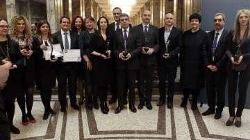 Президентът Плевнелиев получи награда от Българския дарителски форум