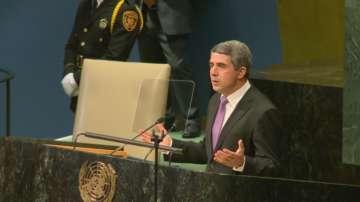 Плевнелиев: Светът не трябва да приема тероризма за новото нормално