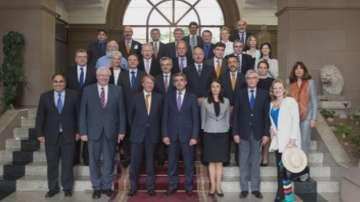 Среща на президента Росен Плевнелиев с дипломати