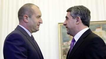 След срещата: Плевнелиев и Радев ще водят консултации за служебния кабинет