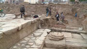Откриха антична улица в центъра на Пловдив