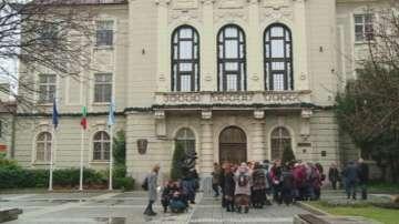 Пореден протест на медици в Пловдив