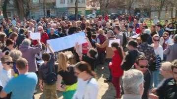 В Пловдив протестират срещу сеч на дървета в парк Северен