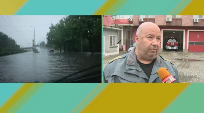Ситуацията в Пловдив към 7.00 часа е коренно различна от