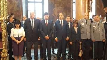Цвета Караянчева присъства на тържествената Света литургия в Пловдив