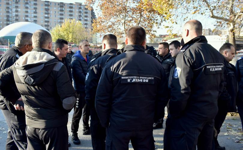 """Втори протест на надзирателите и служителите на """"Съдебна охрана"""""""
