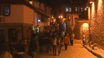 Хиляди туристи на фестивала НОЩ-Пловдив