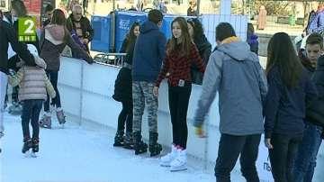 На ледената пързалка през ваканцията