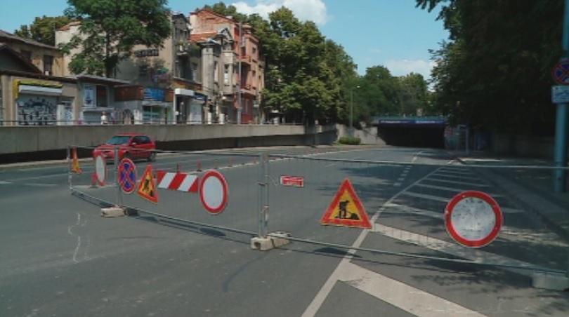 Пътна блокада в Пловдив - затвориха за ремонт подлеза на