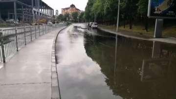 Порой с градушка наводни Пловдив