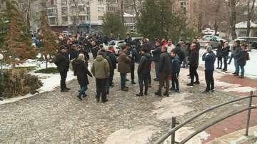 Протест в Пловдив в подкрепа на задържания лекар за убийство