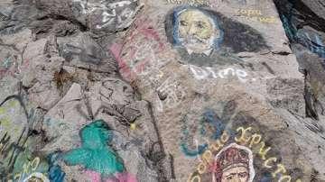 Ликове на велики българи по скалите на тепетата в Пловдив