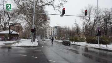 Умни светофари и зелена вълна по ремонтирания булевард Васил Априлов в Пловдив