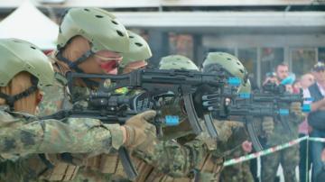 Атрактивна демонстрация на елитните части от българската армия в Пловдив