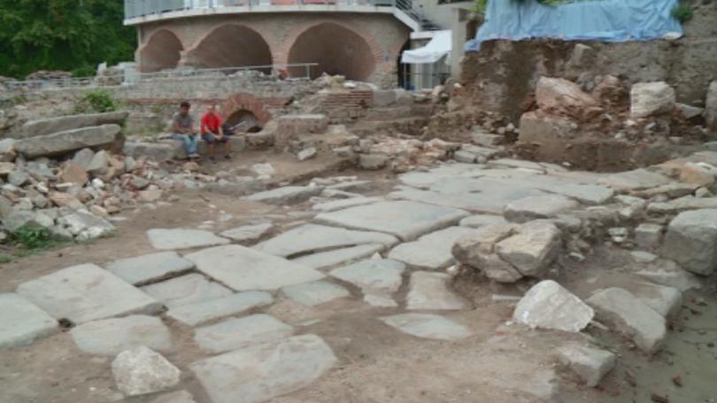 Фрагменти от най-главната антична улица на Филипопол откриха пловдивски археолози