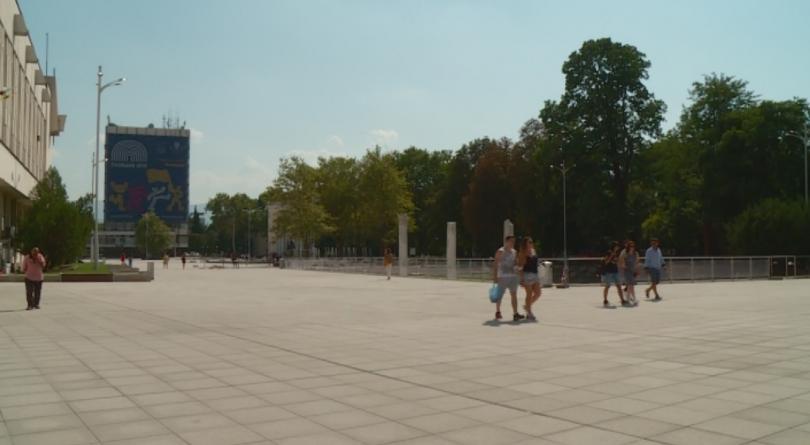 снимка 3 За Деня на Съединението: Откриват обновения площад Централен в Пловдив