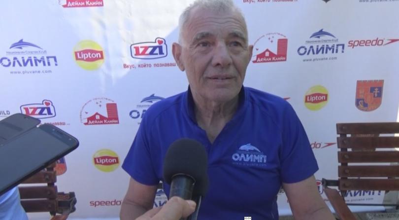 Впечатляващо постижение направи 75-годишен силистренец. Ангел Милков преплува 20 километра,