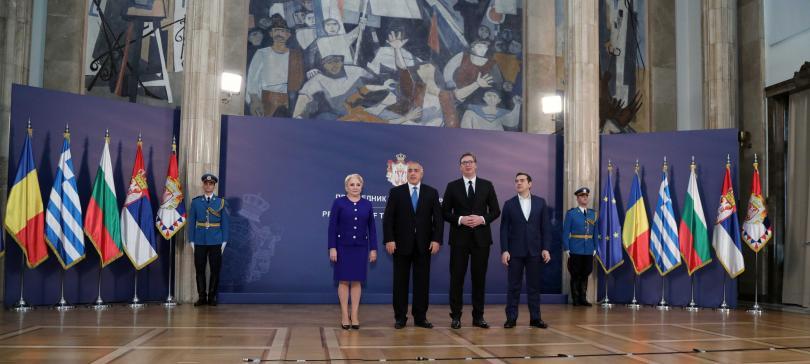 снимка 1 Започна Четиристранната среща на върха в Белград с участието на премиера Борисов