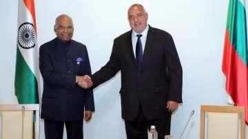 Премиерът Бойко Борисов се срещна с президента на Индия Рам Натх Ковинд