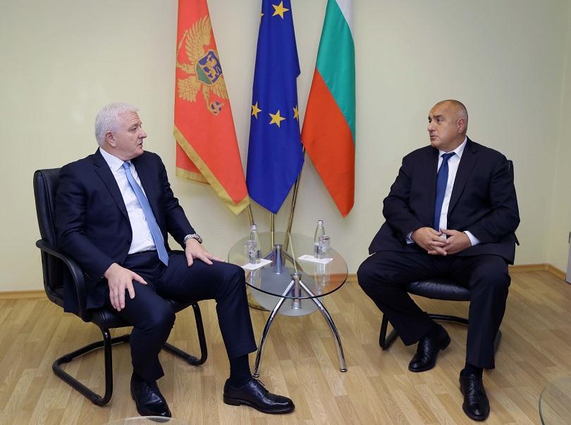 Бойко Борисов проведе двустранни срещи с премиерите на Сърбия и Черна гора