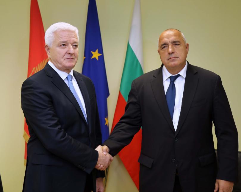 снимка 2 Бойко Борисов проведе двустранни срещи с премиерите на Сърбия и Черна гора