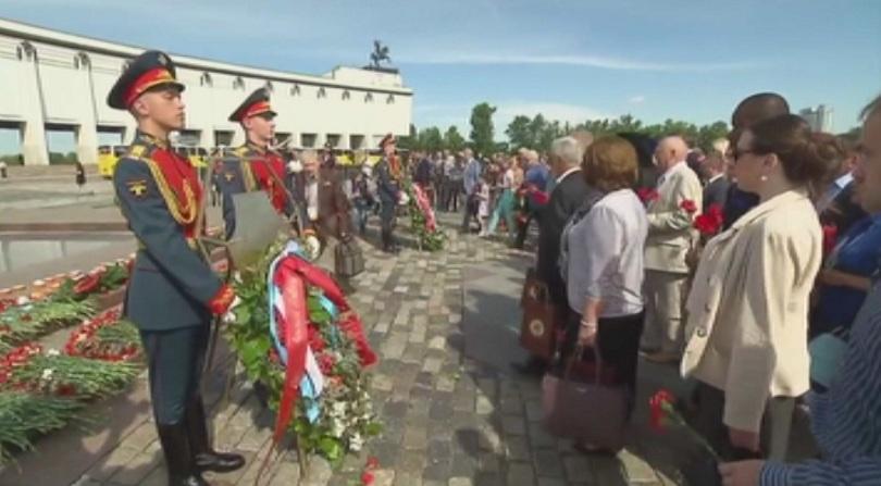 В Русия почитат паметта на жертвите  от войната