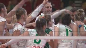 България е на четвъртфинал на Европейското първенство по волейбол за жени