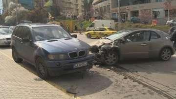 Отново агресия на пътя - побой заради катастрофа в София