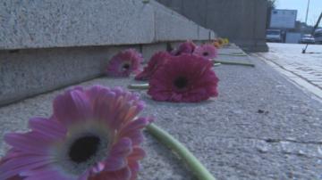 Поднесоха цветя пред НС в памет на жертвите на домашно насилие