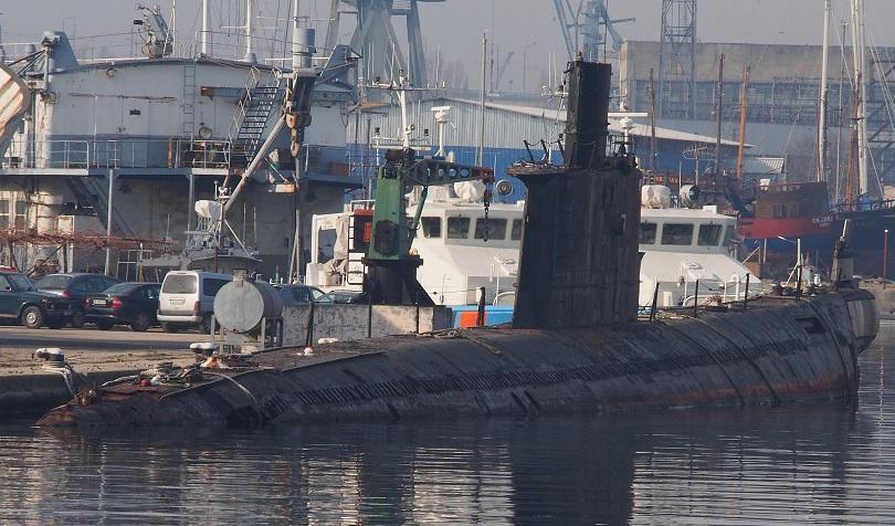 Снимка: Последната българска подводница Слава ще бъде превърната в музей