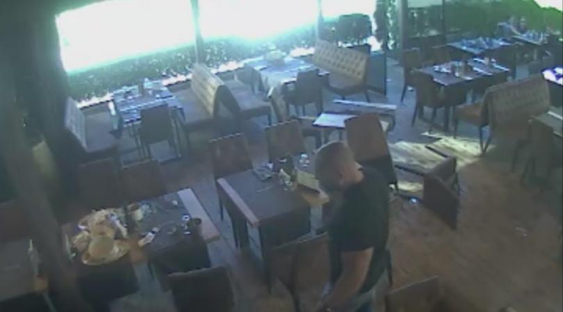 Снимка: Двама мъже, съпричастни към погрома на бар в София, са обявени за издирване