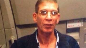 Появи се снимка на похитителя от Ларнака с колан с експлозиви