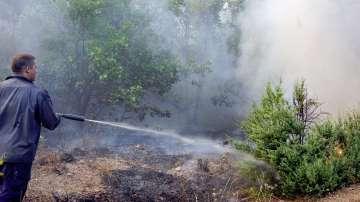56-годишен тракторист от Свиленград е предизвикал пожара до Лисово и Левка