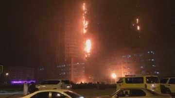 Пожар в огроман жилищна сграда в Обединените арабски емирства