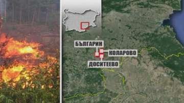 Овладян е пожарът в Харманлийско